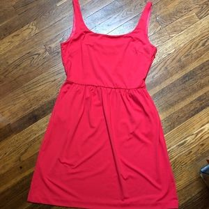 Women's Cynthia Rowley Red/Pink Dress Size Large